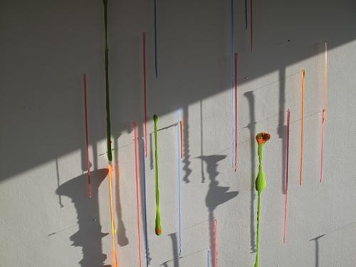 "<div class='artwork-listing'><span class='artwork-listing-artist'><a href=""/users/sonia-haberstich"" class=""active"">Sonia A Haberstich</a></span>, <span class='artwork-listing-title'><a href=""/portfolio/10008/latex-paint"">Latex paint </a></span>, <span class='artwork-listing-year'>2009</span>, <span class='artwork-listing-materials'>Latex paint pinned on wall</span>, <span class='artwork-listing-dimensions'>24 x 24 in.</span></div>"