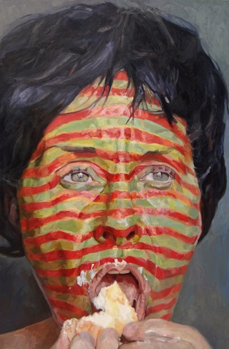 "<div class='artwork-listing'><span class='artwork-listing-artist'><a href=""/users/laura-alexander"" class=""active"">Laura Alexander</a></span>, <span class='artwork-listing-title'><a href=""/portfolio/10231/twinkie"">Twinkie</a></span>, <span class='artwork-listing-year'>2013</span>, <span class='artwork-listing-materials'>oil on canvas</span>, <span class='artwork-listing-dimensions'>96"" x 60""</span></div>"