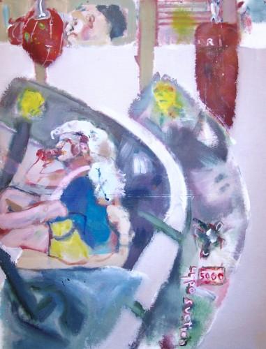 "<div class='artwork-listing'><span class='artwork-listing-artist'><a href=""/users/chuck-hitner"" class=""active"">Chuck Hitner</a></span>, <span class='artwork-listing-title'><a href=""/portfolio/10403/draining-room-2"">draining room 2</a></span>, <span class='artwork-listing-year'>2016</span>, <span class='artwork-listing-materials'>acrylic on fiberglass window screen</span>, <span class='artwork-listing-dimensions'>5 x 4ft</span></div>"