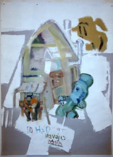 "<div class='artwork-listing'><span class='artwork-listing-artist'><a href=""/users/chuck-hitner"" class=""active"">Chuck Hitner</a></span>, <span class='artwork-listing-title'><a href=""/portfolio/10403/h2o-navajo"">H2o navajo</a></span>, <span class='artwork-listing-year'>2015</span>, <span class='artwork-listing-materials'>acrylic on fiberglass window screen</span>, <span class='artwork-listing-dimensions'>5.5ft x 4ft</span></div>"