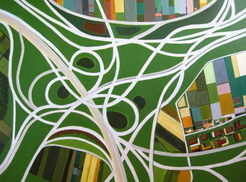 "<div class='artwork-listing'><span class='artwork-listing-artist'><a href=""/users/toni-silber-delerive"">Toni Silber-Delerive</a></span>, <span class='artwork-listing-title'><a href=""/portfolio/10436/highway-loops"">Highway Loops</a></span>, <span class='artwork-listing-year'>2011</span>, <span class='artwork-listing-materials'>acrlic on canvas</span>, <span class='artwork-listing-dimensions'>48"" x 36""</span></div>"