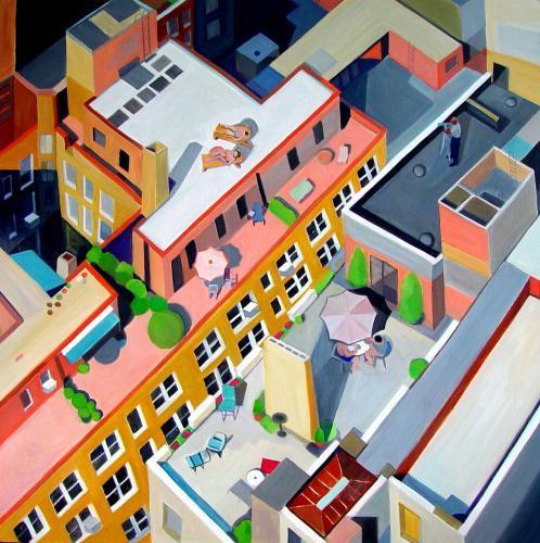 "<div class='artwork-listing'><span class='artwork-listing-artist'><a href=""/users/toni-silber-delerive"">Toni Silber-Delerive</a></span>, <span class='artwork-listing-title'><a href=""/portfolio/10436/manhattan-rooftops"">Manhattan Rooftops</a></span>, <span class='artwork-listing-year'>2008</span>, <span class='artwork-listing-materials'>oil on canvas</span>, <span class='artwork-listing-dimensions'>48 x 48 inches</span></div>"