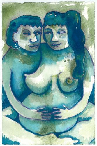 "<div class='artwork-listing'><span class='artwork-listing-artist'><a href=""/users/julia-ann-taylor"">Julia Ann Taylor</a></span>, <span class='artwork-listing-title'><a href=""/portfolio/10740/blue-gaze-pregnancy-series"">""Blue Gaze"" from Pregnancy Series</a></span>, <span class='artwork-listing-year'>2009</span>, <span class='artwork-listing-materials'>Gouache and colored pencil on paper</span>, <span class='artwork-listing-dimensions'>10""x6""</span></div>"