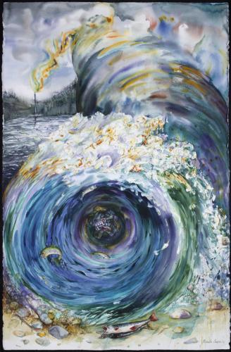 "<div class='artwork-listing'><span class='artwork-listing-artist'><a href=""/users/pamelacasper"" class=""active"">PamelaCasper</a></span>, <span class='artwork-listing-title'><a href=""/portfolio/10917/rape-water-shed"">Rape of the Water Shed</a></span>, <span class='artwork-listing-year'>2011</span>, <span class='artwork-listing-materials'>Water color on Paper</span>, <span class='artwork-listing-dimensions'>40"" x 26""</span></div>"