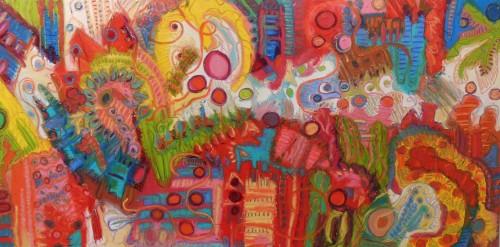 "<div class='artwork-listing'><span class='artwork-listing-artist'><a href=""/users/jeff-ferst"" class=""active"">Jeff Ferst</a></span>, <span class='artwork-listing-title'><a href=""/portfolio/11142/roadrunner-talks-moon"">Roadrunner Talks to the Moon</a></span>, <span class='artwork-listing-year'>2014</span>, <span class='artwork-listing-materials'>oil on canvas</span>, <span class='artwork-listing-dimensions'>80 x 40inches</span></div>"
