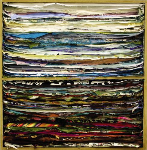 "<div class='artwork-listing'><span class='artwork-listing-artist'><a href=""/users/noura-shuqair"" class=""active"">NOURA SHUQAIR</a></span>, <span class='artwork-listing-title'><a href=""/portfolio/11412/1-landscape"">""1"" Landscape </a></span>, <span class='artwork-listing-year'>2009</span>, <span class='artwork-listing-materials'>fabrics and paper on wood </span>, <span class='artwork-listing-dimensions'>39.4 in x 39.4 in</span></div>"