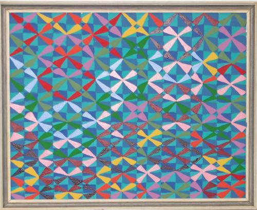 "<div class='artwork-listing'><span class='artwork-listing-artist'><a href=""/users/meredith-frances-lynch"" class=""active"">Meredith Frances Lynch</a></span>, <span class='artwork-listing-title'><a href=""/portfolio/1152/untitled-kaleidoscope-series"">Untitled (Kaleidoscope Series)</a></span>, <span class='artwork-listing-year'>2011</span>, <span class='artwork-listing-materials'>Mixed media on glass</span>, <span class='artwork-listing-dimensions'>45 x 70cm</span></div>"