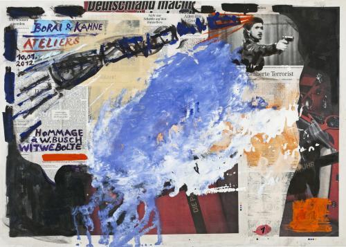 "<div class='artwork-listing'><span class='artwork-listing-artist'><a href=""/users/borai-kahne-ateliers"" class=""active"">Borai - Kahne Ateliers</a></span>, <span class='artwork-listing-title'><a href=""/portfolio/12024/hommage-%C3%A0-wbusch-witwe-bolte-%E2%80%A2-01"">Hommage à W.Busch - Witwe Bolte • 01</a></span>, <span class='artwork-listing-year'>2012</span>, <span class='artwork-listing-materials'>Acrylic on newspaper</span>, <span class='artwork-listing-dimensions'>22.4"" x 31.1""</span></div>"