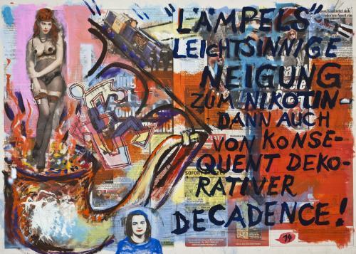 "<div class='artwork-listing'><span class='artwork-listing-artist'><a href=""/users/borai-kahne-ateliers"" class=""active"">Borai - Kahne Ateliers</a></span>, <span class='artwork-listing-title'><a href=""/portfolio/12024/hommage-%C3%A0-wbusch-witwe-bolte-%E2%80%A2-14-0"">Hommage à W.Busch - Witwe Bolte • 14</a></span>, <span class='artwork-listing-year'>2012</span>, <span class='artwork-listing-materials'>Acrylic on newspaper</span>, <span class='artwork-listing-dimensions'>22.4"" x 31.1""</span></div>"