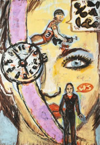 "<div class='artwork-listing'><span class='artwork-listing-artist'><a href=""/users/borai-kahne-ateliers"" class=""active"">Borai - Kahne Ateliers</a></span>, <span class='artwork-listing-title'><a href=""/portfolio/12024/beauty-2""> Beauty 2</a></span>, <span class='artwork-listing-year'>2012</span>, <span class='artwork-listing-materials'>Acrylic on newspaper</span>, <span class='artwork-listing-dimensions'>22.36"" x 15.67""</span></div>"