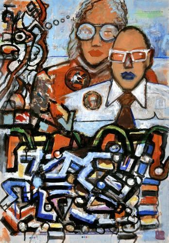 "<div class='artwork-listing'><span class='artwork-listing-artist'><a href=""/users/borai-kahne-ateliers"" class=""active"">Borai - Kahne Ateliers</a></span>, <span class='artwork-listing-title'><a href=""/portfolio/12024/graffitos"">Graffitos</a></span>, <span class='artwork-listing-year'>2012</span>, <span class='artwork-listing-materials'>22Acrylic on newspaper</span>, <span class='artwork-listing-dimensions'>22.36"" x 15.67""</span></div>"