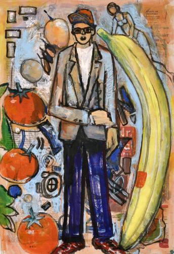 "<div class='artwork-listing'><span class='artwork-listing-artist'><a href=""/users/borai-kahne-ateliers"" class=""active"">Borai - Kahne Ateliers</a></span>, <span class='artwork-listing-title'><a href=""/portfolio/12024/junger-mann-mit-fr%C3%BCchten"">Junger Mann mit Früchten</a></span>, <span class='artwork-listing-year'>2012</span>, <span class='artwork-listing-materials'>Acrylic on newspaper</span>, <span class='artwork-listing-dimensions'>22.36"" x 15.67""</span></div>"