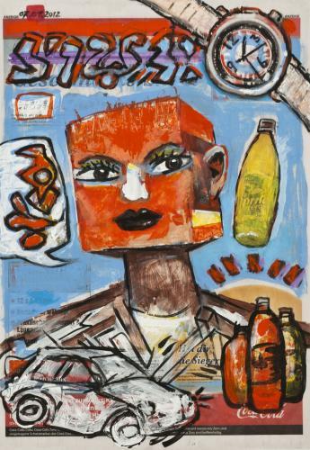 "<div class='artwork-listing'><span class='artwork-listing-artist'><a href=""/users/borai-kahne-ateliers"" class=""active"">Borai - Kahne Ateliers</a></span>, <span class='artwork-listing-title'><a href=""/portfolio/12024/red-face"">Red Face</a></span>, <span class='artwork-listing-year'>2012</span>, <span class='artwork-listing-materials'>Acrylic on newspaper</span>, <span class='artwork-listing-dimensions'>22.36"" x 15.67""</span></div>"