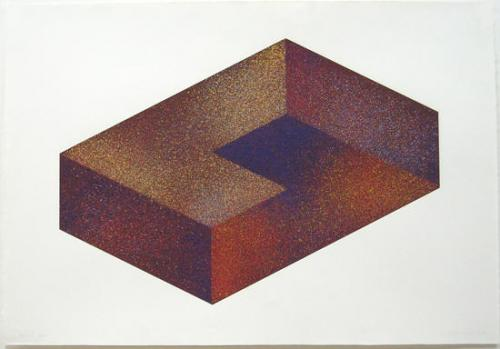 "<div class='artwork-listing'><span class='artwork-listing-artist'><a href=""/users/astrid-fitzgerald"" class=""active"">Astrid Fitzgerald</a></span>, <span class='artwork-listing-title'><a href=""/portfolio/12046/xenos-i"">Xenos I</a></span>, <span class='artwork-listing-year'>1979</span>, <span class='artwork-listing-materials'>Printing Ink on Arches paper, 10-color</span>, <span class='artwork-listing-dimensions'>25""H x 35""W</span></div>"