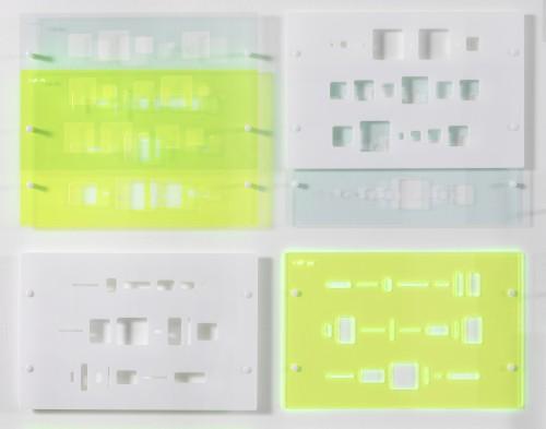 "<div class='artwork-listing'><span class='artwork-listing-artist'><a href=""/users/yvette-kaiser-smith"" class=""active"">Yvette Kaiser Smith</a></span>, <span class='artwork-listing-title'><a href=""/portfolio/12117/codex-pi-1021-detail"">Codex: pi 1021 (detail)</a></span>, <span class='artwork-listing-year'>2016</span>, <span class='artwork-listing-materials'>Laser-cut 1/8"" acrylic sheet, capped hardware, nylon spacers.</span>, <span class='artwork-listing-dimensions'>92.5"" x 134.5"" x 1.5""</span></div>"