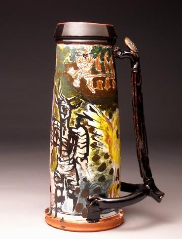 "<div class='artwork-listing'><span class='artwork-listing-artist'><a href=""/users/jeremy-hunter-sims"" class=""active"">Jeremy Hunter Sims</a></span>, <span class='artwork-listing-title'><a href=""/portfolio/12337/die-bierkrieg"">Die Bierkrieg</a></span>, <span class='artwork-listing-year'>2011</span>, <span class='artwork-listing-materials'>Ceramic</span>, <span class='artwork-listing-dimensions'>17x13x30</span></div>"