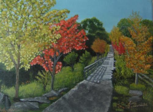 "<div class='artwork-listing'><span class='artwork-listing-artist'><a href=""/users/lisa-macdonald"" class=""active"">Lisa MacDonald</a></span>, <span class='artwork-listing-title'><a href=""/portfolio/12472/rail-trail"">The Rail Trail</a></span>, <span class='artwork-listing-year'>2011</span>, <span class='artwork-listing-materials'>Acrylic on Canvas</span>, <span class='artwork-listing-dimensions'>9 x 12 inches</span></div>"