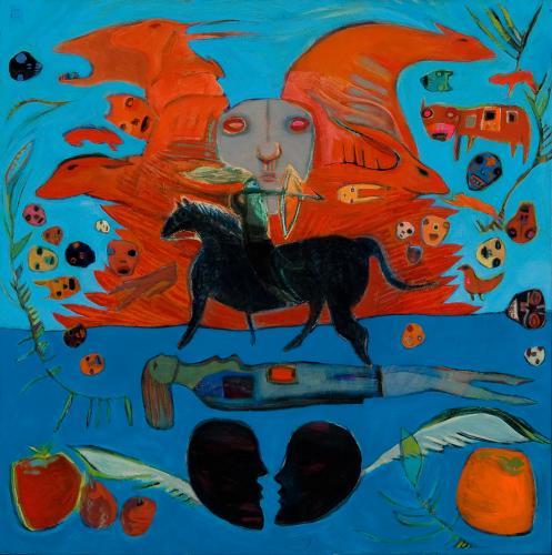 "<div class='artwork-listing'><span class='artwork-listing-artist'><a href=""/users/janet-mathias"" class=""active"">Janet Mathias</a></span>, <span class='artwork-listing-title'><a href=""/portfolio/12557/shaman"">Shaman</a></span>, <span class='artwork-listing-year'>2010</span>, <span class='artwork-listing-materials'>oil on panel</span>, <span class='artwork-listing-dimensions'>30"" x 30""</span></div>"