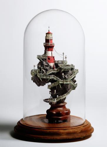 "<div class='artwork-listing'><span class='artwork-listing-artist'><a href=""/users/takanori-aiba"" class=""active"">Takanori Aiba</a></span>, <span class='artwork-listing-title'><a href=""/portfolio/12587/lighthouse"">The Lighthouse-A</a></span>, <span class='artwork-listing-year'>2008</span>, <span class='artwork-listing-materials'>Chinese Suiseki with Mixed Media, Glass</span>, <span class='artwork-listing-dimensions'>φ:7.0""x11.0""</span></div>"