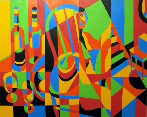 """<div class='artwork-listing'><span class='artwork-listing-artist'><a href=""""/users/joseph-burchfield"""" class=""""active"""">Joseph Burchfield</a></span>, <span class='artwork-listing-title'><a href=""""/portfolio/12674/quartet"""">Quartet</a></span>, <span class='artwork-listing-year'>2015</span>, <span class='artwork-listing-materials'>Oil on Canvas</span>, <span class='artwork-listing-dimensions'>40"""" x 50""""</span></div>"""