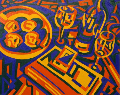 "<div class='artwork-listing'><span class='artwork-listing-artist'><a href=""/users/joseph-burchfield"" class=""active"">Joseph Burchfield</a></span>, <span class='artwork-listing-title'><a href=""/portfolio/12674/studio"">Studio</a></span>, <span class='artwork-listing-year'>2012</span>, <span class='artwork-listing-materials'>Oil on canvas</span>, <span class='artwork-listing-dimensions'>24"" x 30""</span></div>"