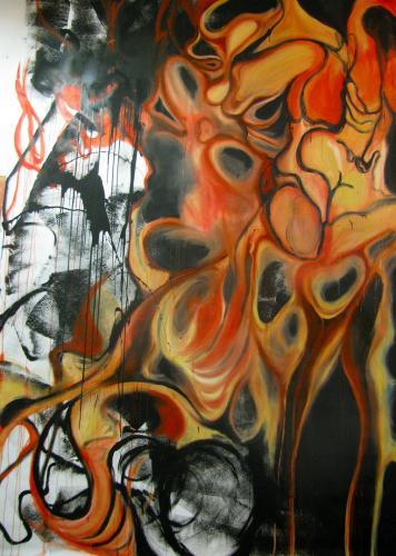 "<div class='artwork-listing'><span class='artwork-listing-artist'><a href=""/users/yana-ouchakova"" class=""active"">Yana Ouchakova</a></span>, <span class='artwork-listing-title'><a href=""/portfolio/12740/piet%C3%A0"">Pietà</a></span>, <span class='artwork-listing-year'>2012</span>, <span class='artwork-listing-materials'>Oil, spray paint, gesso on unprimed canvas</span>, <span class='artwork-listing-dimensions'>13' by 8' </span></div>"