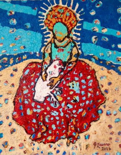 "<div class='artwork-listing'><span class='artwork-listing-artist'><a href=""/users/joseph-laurro"" class=""active"">Joseph Laurro</a></span>, <span class='artwork-listing-title'><a href=""/portfolio/12757/chicken-lady-saint"">""chicken lady/ saint""</a></span>, <span class='artwork-listing-year'>2016</span>, <span class='artwork-listing-materials'>oil, enamel on canvas</span>, <span class='artwork-listing-dimensions'>20""x16""</span></div>"