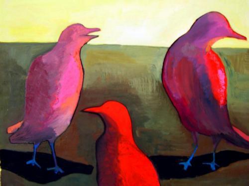 "<div class='artwork-listing'><span class='artwork-listing-artist'><a href=""/users/laura-petrovich-cheney"" class=""active"">Laura Petrovich-Cheney</a></span>, <span class='artwork-listing-title'><a href=""/portfolio/13106/birds"">Birds</a></span>, <span class='artwork-listing-year'>2005</span>, <span class='artwork-listing-materials'>oil paint on paper</span>, <span class='artwork-listing-dimensions'>23"" x 38"" </span></div>"
