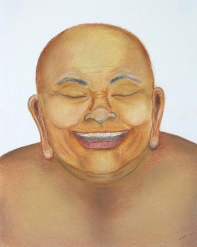 "<div class='artwork-listing'><span class='artwork-listing-artist'><a href=""/users/nancy-lew-lee"" class=""active"">Nancy Lew Lee</a></span>, <span class='artwork-listing-title'><a href=""/portfolio/13243/laughing-buddha"">Laughing Buddha</a></span>, <span class='artwork-listing-year'>2010</span>, <span class='artwork-listing-materials'>pastel on paper</span>, <span class='artwork-listing-dimensions'>11"" x 14""</span></div>"