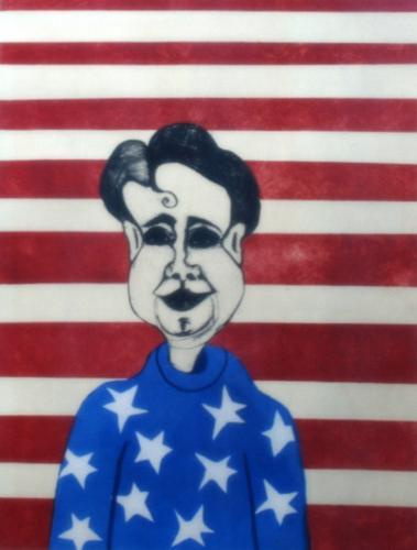 "<div class='artwork-listing'><span class='artwork-listing-artist'><a href=""/users/cherie-m-redlinger"" class=""active"">Cherie M. Redlinger</a></span>, <span class='artwork-listing-title'><a href=""/portfolio/13699/proud-be-american"">Proud To Be An American</a></span>, <span class='artwork-listing-year'>2012</span>, <span class='artwork-listing-materials'>oil based Ink on Paper</span>, <span class='artwork-listing-dimensions'>24""x18""</span></div>"