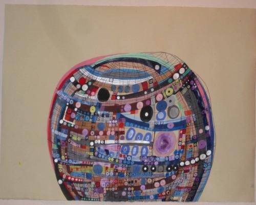 "<div class='artwork-listing'><span class='artwork-listing-artist'><a href=""/users/nina-bovasso"" class=""active"">Nina Bovasso</a></span>, <span class='artwork-listing-title'><a href=""/portfolio/13753/dome"">Dome</a></span>, <span class='artwork-listing-year'>2011</span>, <span class='artwork-listing-materials'>acrylic, watercolor, gouache and ink on paper</span>, <span class='artwork-listing-dimensions'>19 x 25 inches</span></div>"