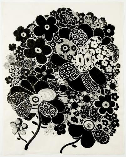 "<div class='artwork-listing'><span class='artwork-listing-artist'><a href=""/users/nina-bovasso"" class=""active"">Nina Bovasso</a></span>, <span class='artwork-listing-title'><a href=""/portfolio/13753/black-and-white-flowers-w-four-leaf-clover"">black and white flowers w/ four leaf clover</a></span>, <span class='artwork-listing-year'>2009</span>, <span class='artwork-listing-materials'>ink on abaca paper</span></div>"