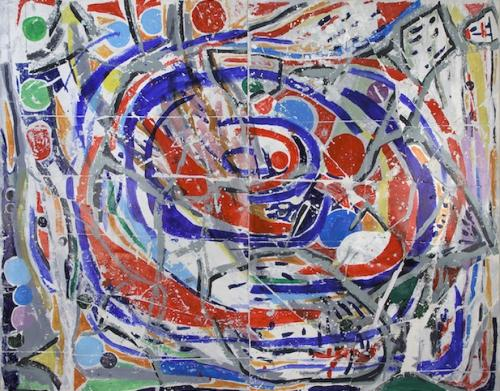 "<div class='artwork-listing'><span class='artwork-listing-artist'><a href=""/users/nina-bovasso"" class=""active"">Nina Bovasso</a></span>, <span class='artwork-listing-title'><a href=""/portfolio/13753/canvas-diptych"">canvas diptych</a></span>, <span class='artwork-listing-year'>2012</span>, <span class='artwork-listing-materials'>acrylic on canvas</span>, <span class='artwork-listing-dimensions'>110 x 80 inches</span></div>"