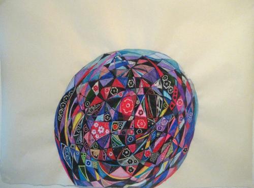 "<div class='artwork-listing'><span class='artwork-listing-artist'><a href=""/users/nina-bovasso"" class=""active"">Nina Bovasso</a></span>, <span class='artwork-listing-title'><a href=""/portfolio/13753/orb-2012"">orb 2012</a></span>, <span class='artwork-listing-year'>2012</span>, <span class='artwork-listing-materials'>acrylic, watercolor, gouache and ink on paper</span>, <span class='artwork-listing-dimensions'>23 x 30 inches</span></div>"