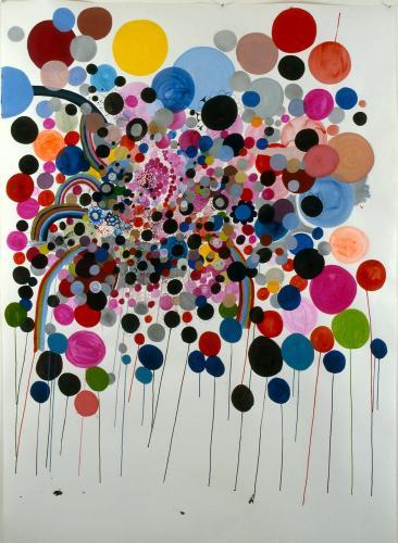"<div class='artwork-listing'><span class='artwork-listing-artist'><a href=""/users/nina-bovasso"" class=""active"">Nina Bovasso</a></span>, <span class='artwork-listing-title'><a href=""/portfolio/13753/balloon-drips"">Balloon Drips</a></span>, <span class='artwork-listing-year'>2005</span>, <span class='artwork-listing-materials'>acrylic, watercolor, gouache and ink on paper</span>, <span class='artwork-listing-dimensions'>60 x 72 inches</span></div>"