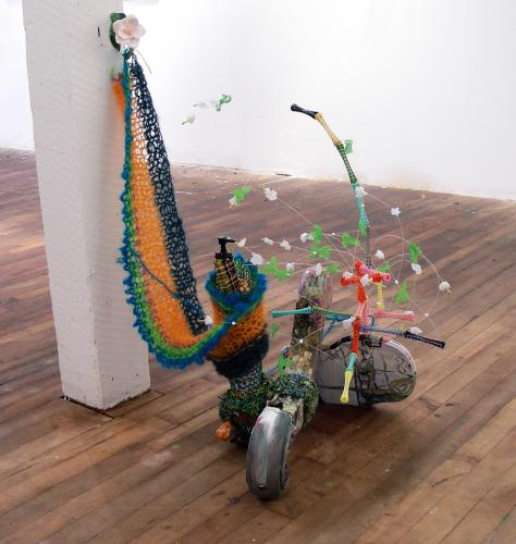 "<div class='artwork-listing'><span class='artwork-listing-artist'><a href=""/users/jeanne-tremel"" class=""active"">Jeanne Tremel</a></span>, <span class='artwork-listing-title'><a href=""/portfolio/13800/shrub-contraption"">Shrub Contraption</a></span>, <span class='artwork-listing-year'>2012</span>, <span class='artwork-listing-materials'>mixed media sculpture </span>, <span class='artwork-listing-dimensions'>2.5' high x 2.5' x 2' </span></div>"