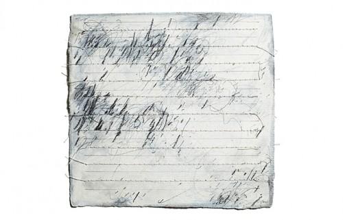 "<div class='artwork-listing'><span class='artwork-listing-artist'><a href=""/users/carole-p-kunstadt"" class=""active"">Carole P. Kunstadt</a></span>, <span class='artwork-listing-title'><a href=""/portfolio/13864/markings-no-44"">Markings No. 44</a></span>, <span class='artwork-listing-year'>2011</span>, <span class='artwork-listing-materials'>gouache, graphite, thread on handmade paper</span>, <span class='artwork-listing-dimensions'>6 x 6</span></div>"