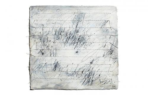 "<div class='artwork-listing'><span class='artwork-listing-artist'><a href=""/users/carole-p-kunstadt"" class=""active"">Carole P. Kunstadt</a></span>, <span class='artwork-listing-title'><a href=""/portfolio/13864/markings-no-45"">Markings No. 45</a></span>, <span class='artwork-listing-year'>2011</span>, <span class='artwork-listing-materials'>gouache, thread, graphite on handmade paper</span>, <span class='artwork-listing-dimensions'>6 x 6</span></div>"
