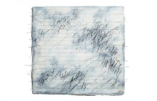 "<div class='artwork-listing'><span class='artwork-listing-artist'><a href=""/users/carole-p-kunstadt"" class=""active"">Carole P. Kunstadt</a></span>, <span class='artwork-listing-title'><a href=""/portfolio/13864/markings-no-46"">Markings No. 46</a></span>, <span class='artwork-listing-year'>2011</span>, <span class='artwork-listing-materials'>gouache, graphite, thread on handmade paper</span>, <span class='artwork-listing-dimensions'>6 x 6</span></div>"