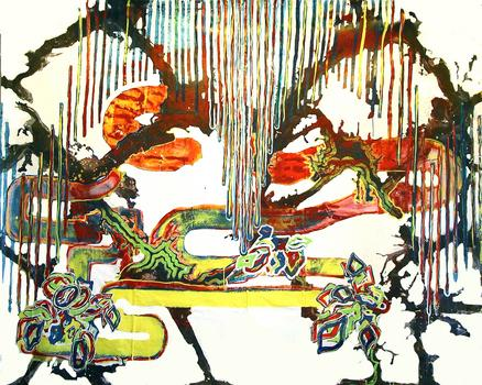 """<div class='artwork-listing'><span class='artwork-listing-artist'><a href=""""/users/michael-maxwell"""" class=""""active"""">Michael Maxwell</a></span>, <span class='artwork-listing-title'><a href=""""/portfolio/145/hokusai"""">Hokusai</a></span>, <span class='artwork-listing-year'>2004</span>, <span class='artwork-listing-materials'>Acrylic on Canvas</span>, <span class='artwork-listing-dimensions'>98"""" x 120""""</span></div>"""