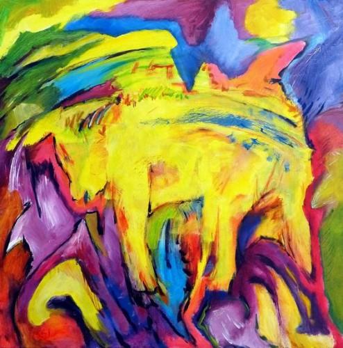 "<div class='artwork-listing'><span class='artwork-listing-artist'><a href=""/users/karl-kaul"" class=""active"">Karl Kaul</a></span>, <span class='artwork-listing-title'><a href=""/portfolio/14609/world-cow"">The world-cow</a></span>, <span class='artwork-listing-year'>2013</span>, <span class='artwork-listing-materials'>Acrylic on canvas</span>, <span class='artwork-listing-dimensions'>100 x 100 cm</span></div>"