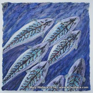 "<div class='artwork-listing'><span class='artwork-listing-artist'><a href=""/users/mary-wallace"" class=""active"">Mary Wallace</a></span>, <span class='artwork-listing-title'><a href=""/portfolio/15566/slade-mackerel-i"">Slade Mackerel, I</a></span>, <span class='artwork-listing-year'>2014</span>, <span class='artwork-listing-materials'>Beeswax, pigment, ink</span>, <span class='artwork-listing-dimensions'>48cm x 48cm</span></div>"