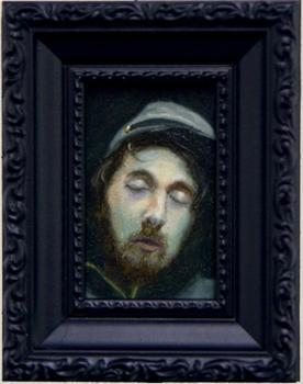 "<div class='artwork-listing'><span class='artwork-listing-artist'><a href=""/users/ben-e-ward"" class=""active"">Ben E Ward</a></span>, <span class='artwork-listing-title'><a href=""/portfolio/1940/small-zombie"">SMALL ZOMBIE</a></span>, <span class='artwork-listing-year'>2006</span>, <span class='artwork-listing-materials'>OIL</span>, <span class='artwork-listing-dimensions'>2X3</span></div>"