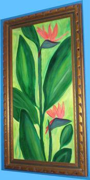 "<div class='artwork-listing'><span class='artwork-listing-artist'><a href=""/users/beth-cornell"" class=""active"">Beth A Cornell</a></span>, <span class='artwork-listing-title'><a href=""/portfolio/2175/birds-paradise"">Birds of Paradise</a></span>, <span class='artwork-listing-year'>2008</span>, <span class='artwork-listing-materials'>wood and acrylics</span>, <span class='artwork-listing-dimensions'>4ft X2 Ft (framed)</span></div>"