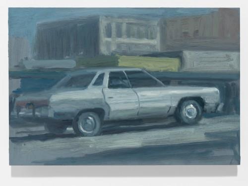 "<div class='artwork-listing'><span class='artwork-listing-artist'><a href=""/users/chris-wright"" class=""active"">Chris Wright</a></span>, <span class='artwork-listing-title'><a href=""/portfolio/2443/impala"">Impala</a></span>, <span class='artwork-listing-year'>2013</span>, <span class='artwork-listing-materials'>Oil on Panel</span>, <span class='artwork-listing-dimensions'>6 x 9 in.</span></div>"