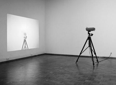 "<div class='artwork-listing'><span class='artwork-listing-artist'><a href=""/users/charles-benton"" class=""active"">Charles Benton</a></span>, <span class='artwork-listing-title'><a href=""/portfolio/3237/cameraprojectormirror"">Camera/Projector/Mirror</a></span>, <span class='artwork-listing-year'>2008</span>, <span class='artwork-listing-materials'>Silver Gelatin Print</span>, <span class='artwork-listing-dimensions'>16""x20""</span></div>"