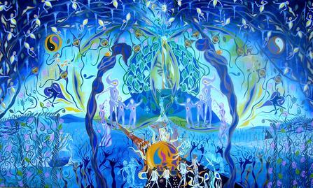 "<div class='artwork-listing'><span class='artwork-listing-artist'><a href=""/users/raymond-pilarczyk"" class=""active"">Raymond Pilarczyk</a></span>, <span class='artwork-listing-title'><a href=""/portfolio/3514/spring-marches-towards-her-kimgdom"">Spring Marches Towards Her Kimgdom</a></span>, <span class='artwork-listing-year'>2008</span>, <span class='artwork-listing-materials'>acrylic on canvas</span>, <span class='artwork-listing-dimensions'>9' by 6' ft.</span></div>"