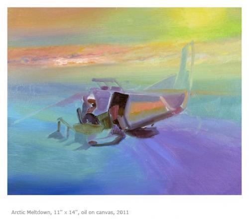 "<div class='artwork-listing'><span class='artwork-listing-artist'><a href=""/users/anna-souvorov"" class=""active"">Anna Souvorov</a></span>, <span class='artwork-listing-title'><a href=""/portfolio/382/arctic-meltdown"">Arctic Meltdown</a></span>, <span class='artwork-listing-year'>2011</span>, <span class='artwork-listing-materials'>Oil on canvas</span>, <span class='artwork-listing-dimensions'>11'' x 14''</span></div>"