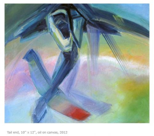 "<div class='artwork-listing'><span class='artwork-listing-artist'><a href=""/users/anna-souvorov"" class=""active"">Anna Souvorov</a></span>, <span class='artwork-listing-title'><a href=""/portfolio/382/tail-end"">Tail End</a></span>, <span class='artwork-listing-year'>2012</span>, <span class='artwork-listing-materials'>Oil on canvas</span>, <span class='artwork-listing-dimensions'>10'' x 12''</span></div>"