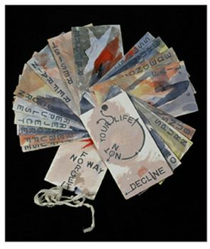 "<div class='artwork-listing'><span class='artwork-listing-artist'><a href=""/users/marilyn-r-rosenberg"" class=""active"">Marilyn R. Rosenberg</a></span>, <span class='artwork-listing-title'><a href=""/portfolio/4302/acceptdecline"">ACCEPT/DECLINE</a></span>, <span class='artwork-listing-year'>2005</span>, <span class='artwork-listing-materials'>artists' book, one of a kind</span></div>"
